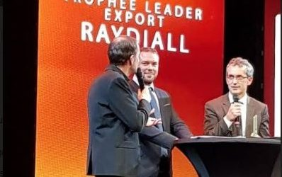 Leader Export 2017 : Raydiall se connecte à la voiture de demain