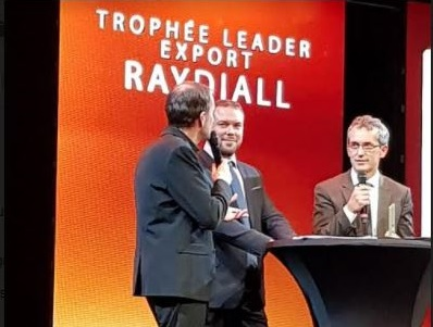Raydiall awarded: Leader Export 2017